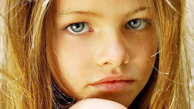 Thylane Loubry Blondeau, a 10-year-old model with a sultry stare beyond her ...