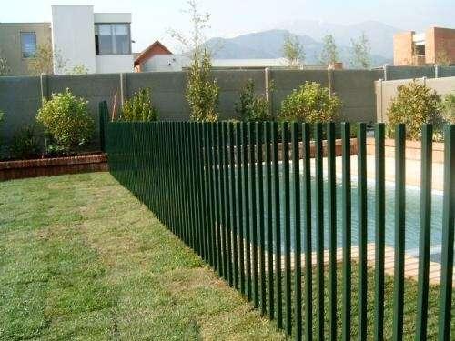 Techumbre para estacionamiento edificio valparaiso for Rejas de jardin