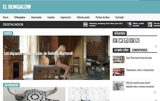 El Bungalow, magazine de inspiración, estilo, DIY y decoración