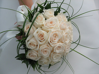 White Wedding Flower Bouquets
