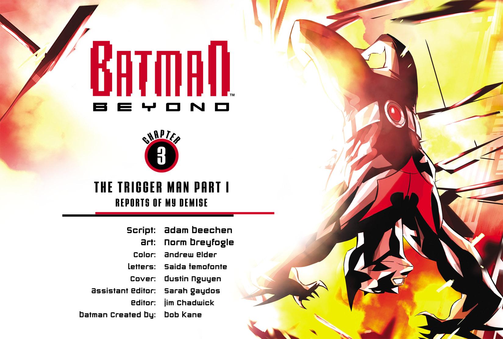 Batman Beyond (2012) Issue #3 #3 - English 2