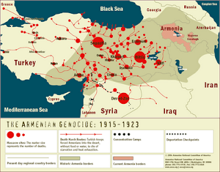 Genocidio Armenio, Memoria del genocidio armenio, Armenia, Historia de Armenia