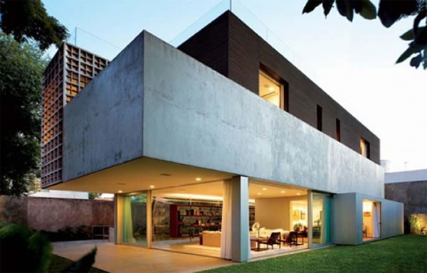 Secret Design Inspirations Modern Home Architecture: modern villa architecture design