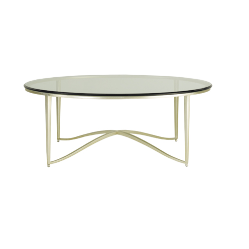 Hauteluxe golden glory Barbara barry coffee table