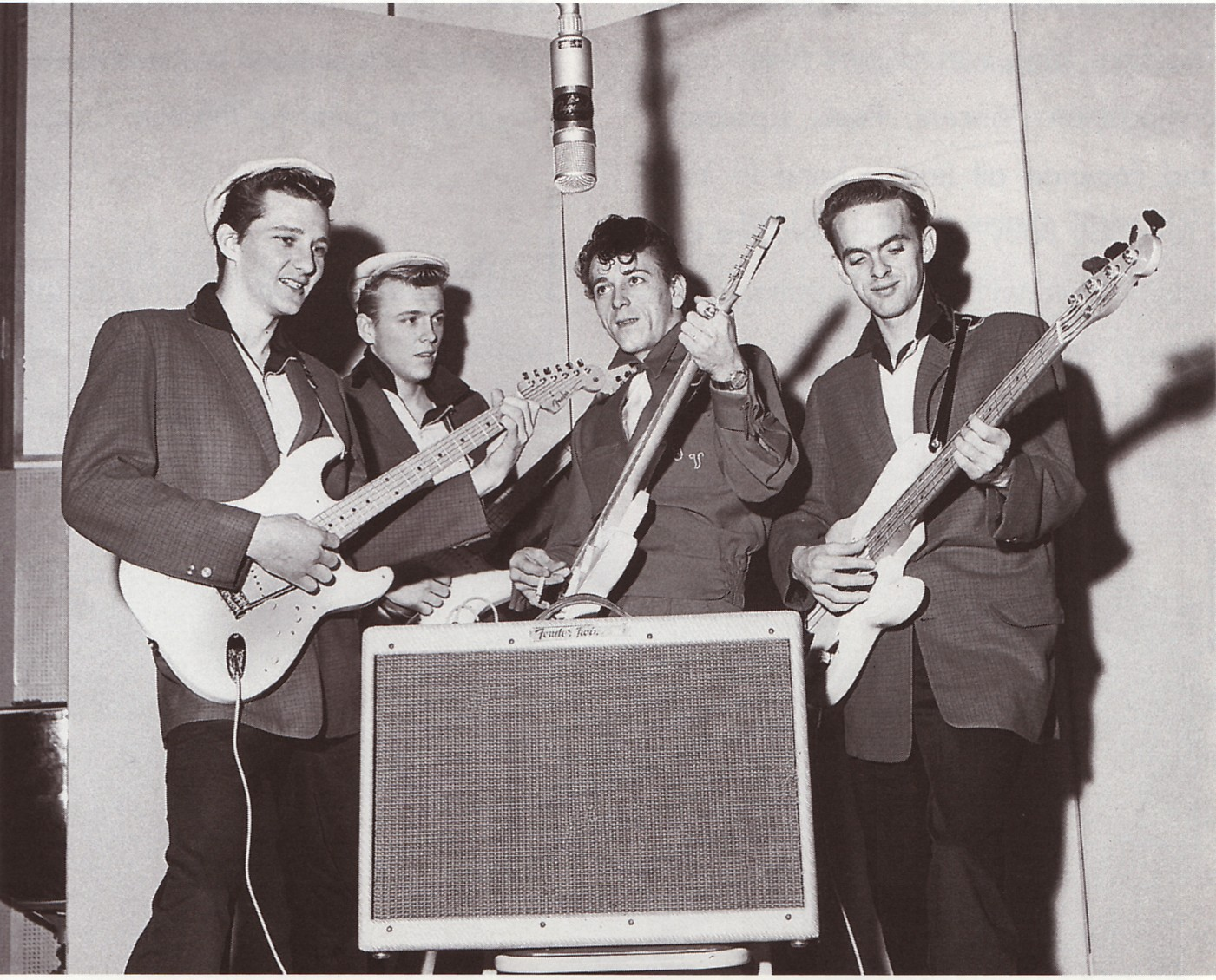 Gene Vincent And The Blue Caps 1957 Cadillac