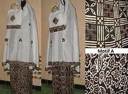 Model Mukena Terbaru Corak Batik