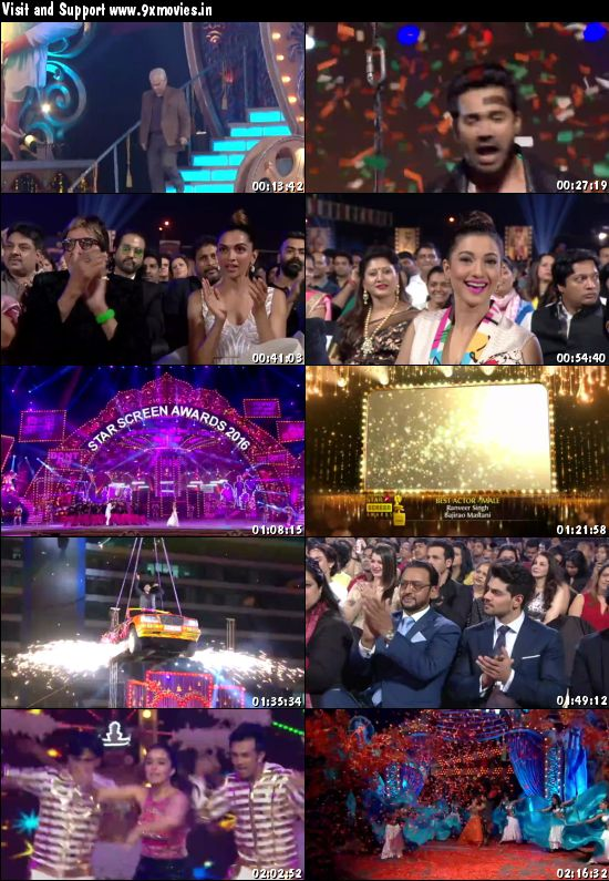 Star Screen Awards 2016 Main Event 480p WEBRip 600mb