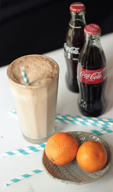 Old Fashioned Float with Rum and Coke | www.SongofSpiceandFire.com