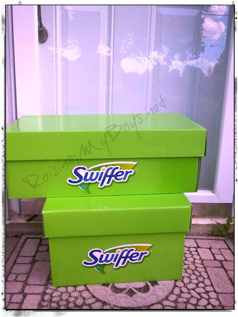 Swiffer big green boxes