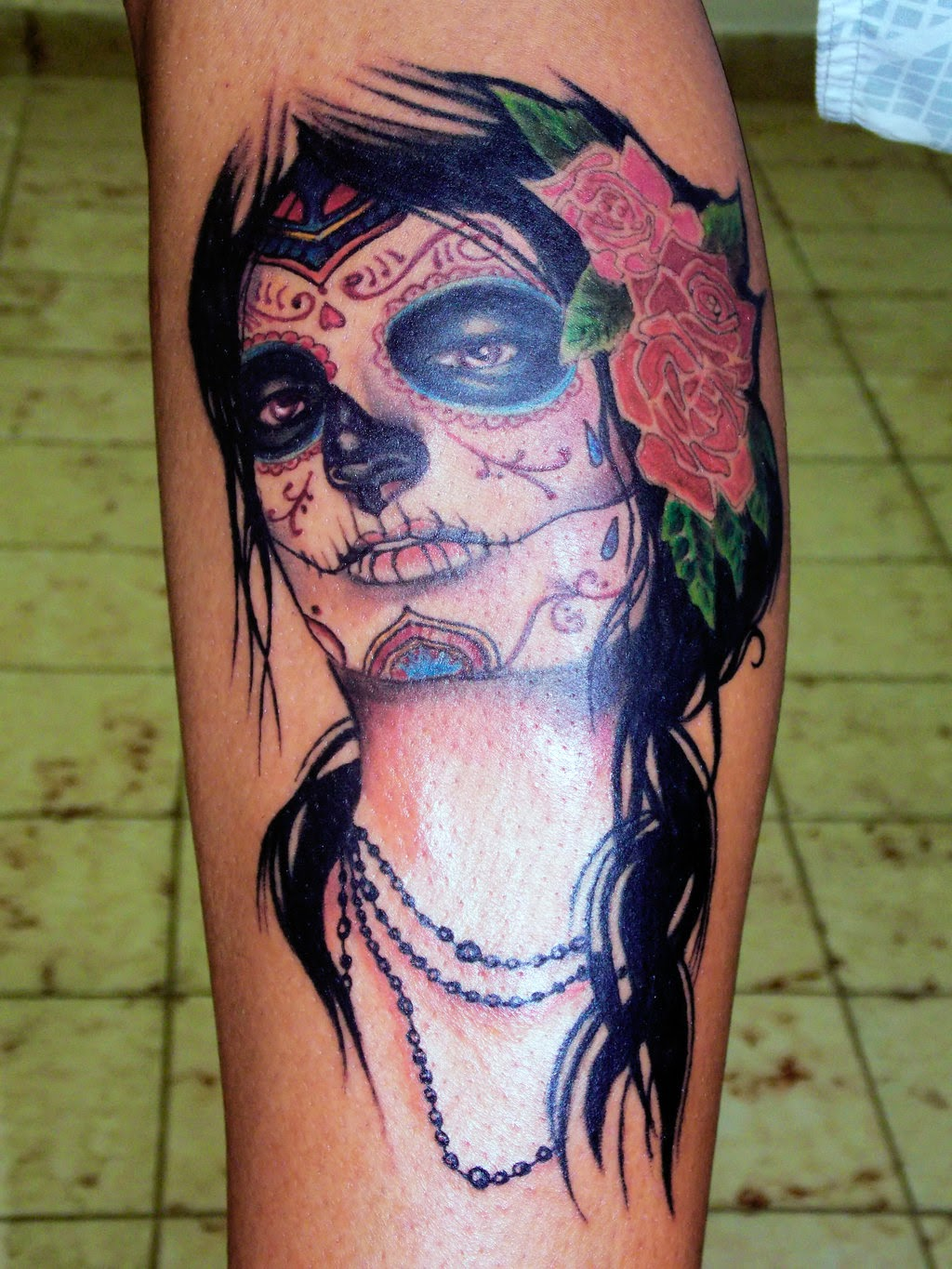 Great Catrina Tattoos Idea