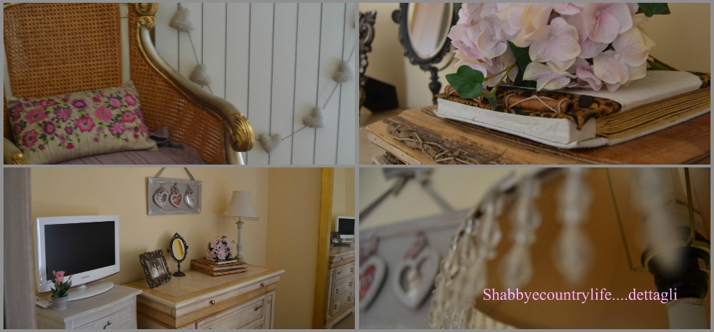 Shabby country life novit a primavera camera da letto - Camera da letto my life ...