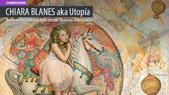 Ilustración. Il·lusió de CHIARA BLANES aka Utopía