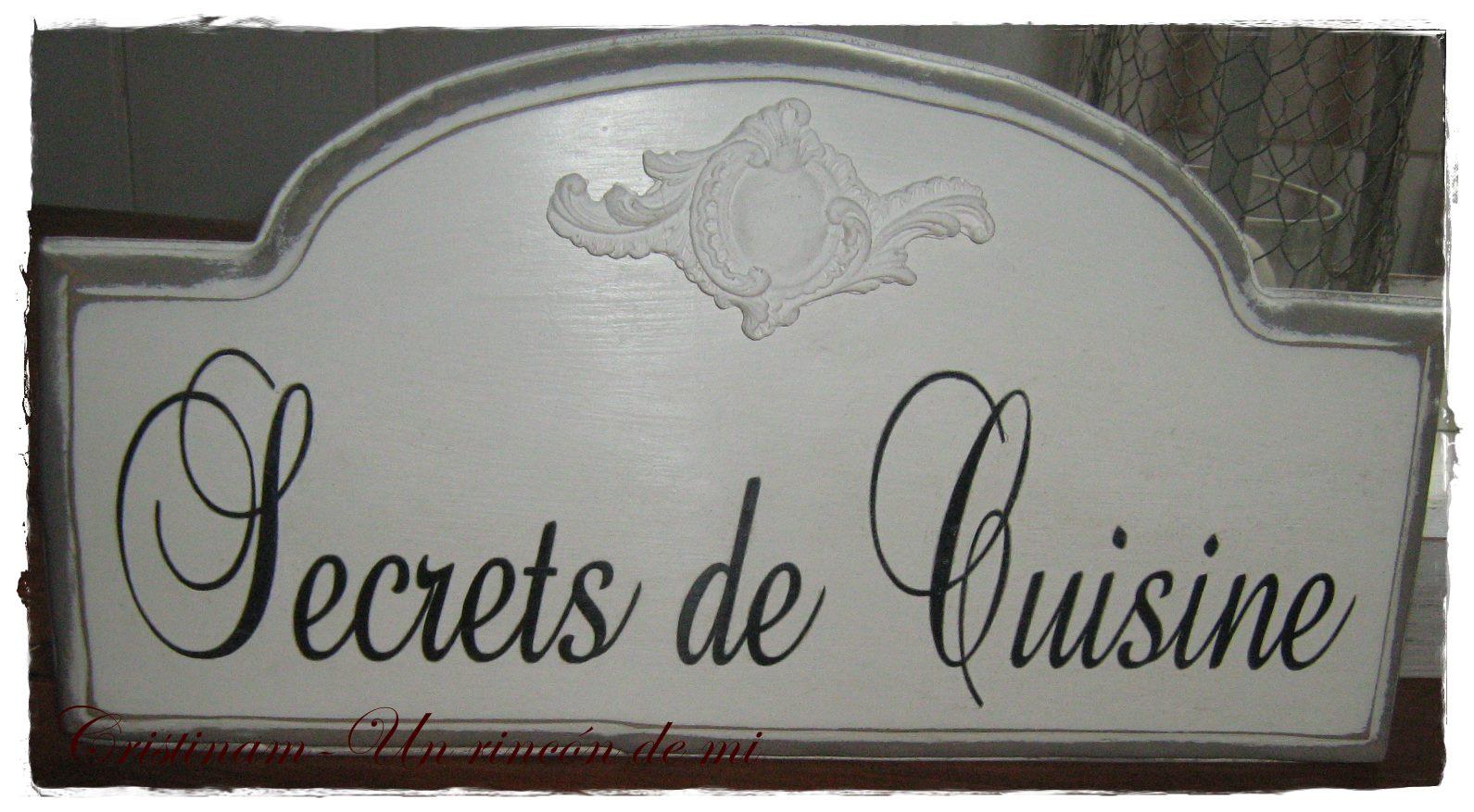 Un rinc n de mi secrets de cuisine for Secrets de cuisine