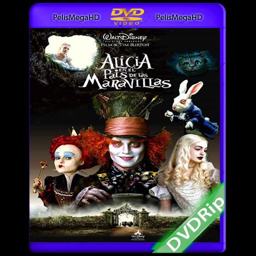 ALICIA EN EL PAIS DE LAS MARAVILLAS (2010) DVDRIP ESPAÑOL LATINO