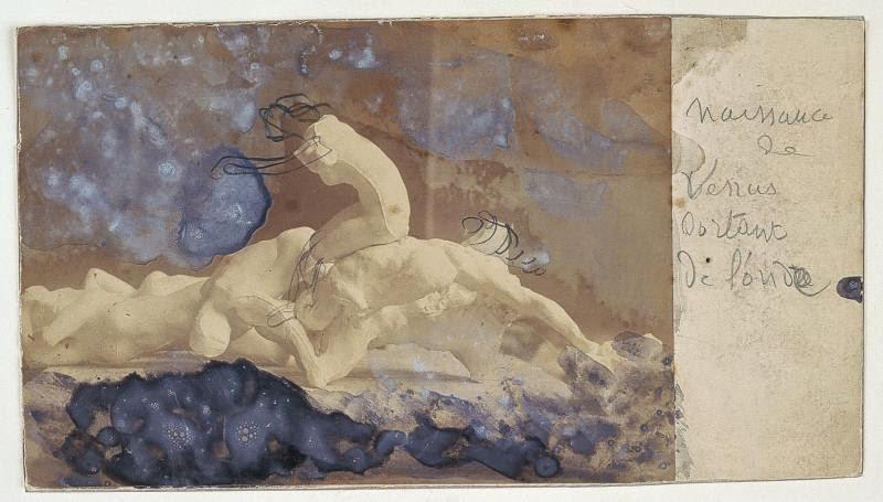 A. Rodin: Naissance de Vénus sortant de l'onde, ca. 1889