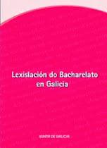 Lexislación Bacharelato Galicia