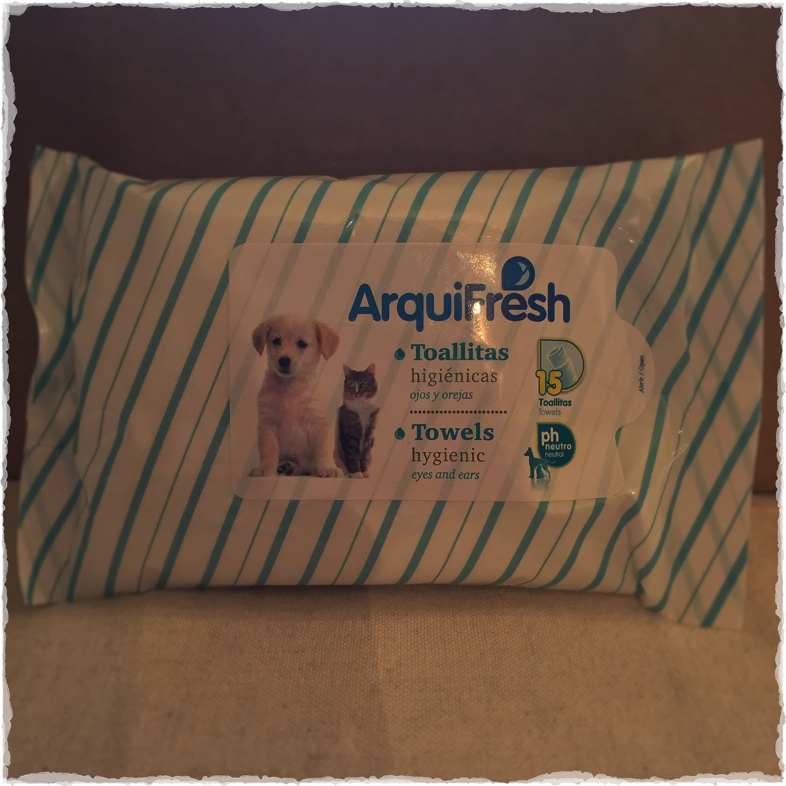 Photo of ArquiFresh wipes