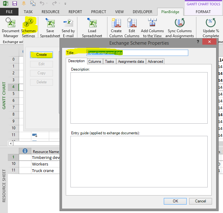 How do i export from microsoft project to excel