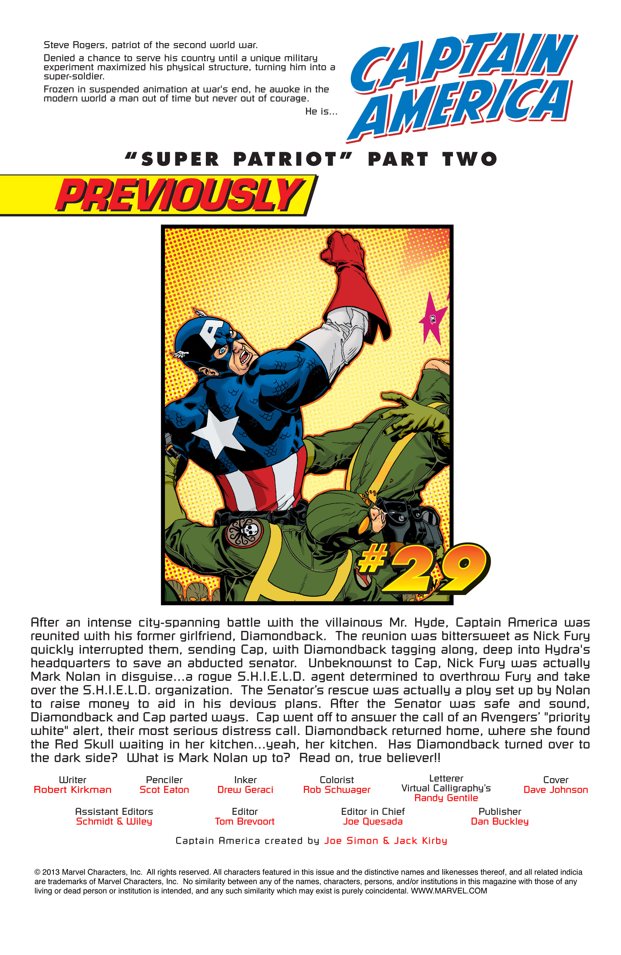 Captain America (2002) Issue #30 #31 - English 2