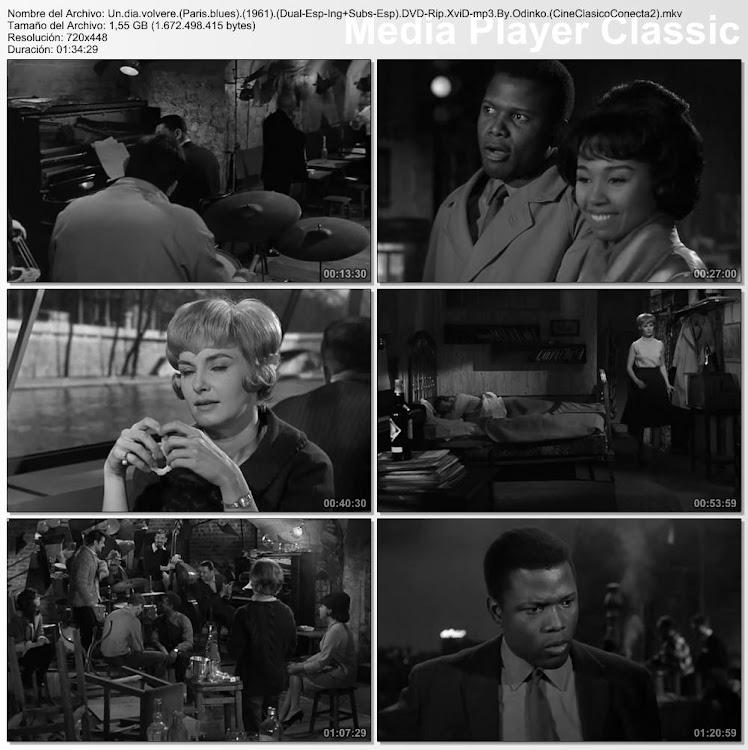 Imagenes de la película: Un día volveré (Paris blues) ( 1961 )