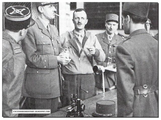 Leclerc with De Gaulle