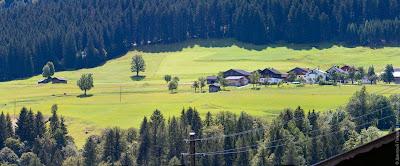 Типично австрийский пейзаж