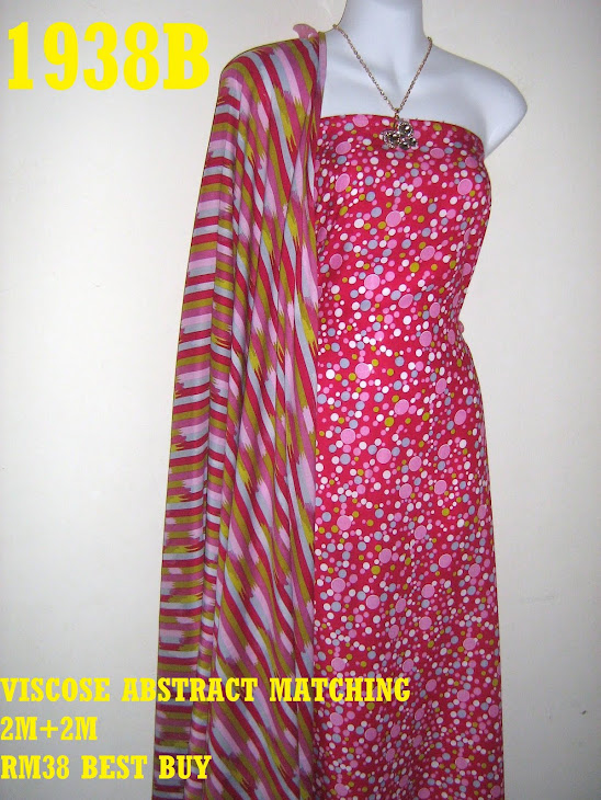 VAM 1938B: VISCOSE ABSTRACT MATCHING, 2M+2M