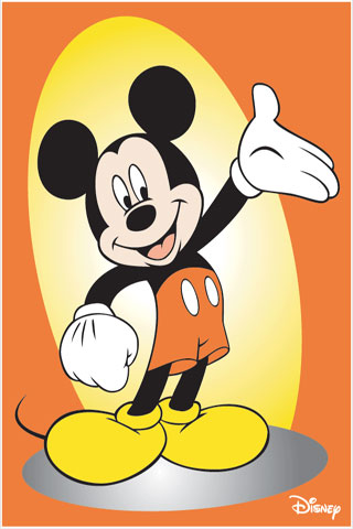 Lovely Mickey Mouse IPhone Wallpaper 6