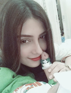 Aiza Khan with baby 14 august pics
