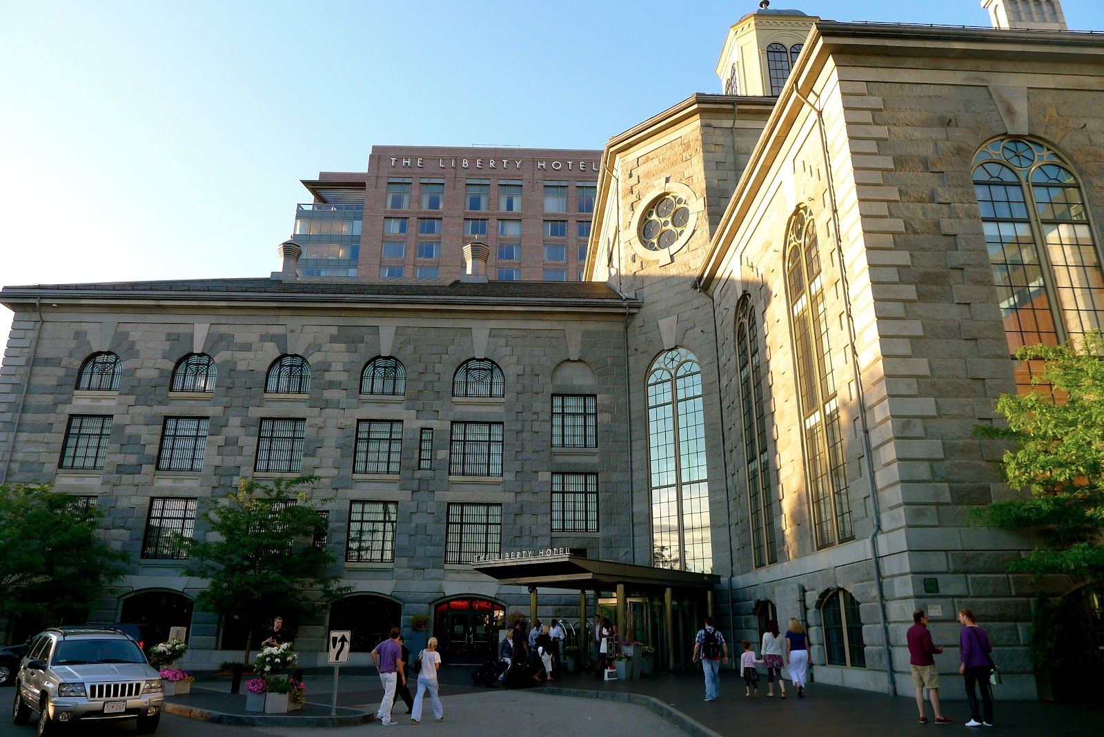 Clink locked up at the liberty hotel in boston for Hotel in boston that used to be a jail