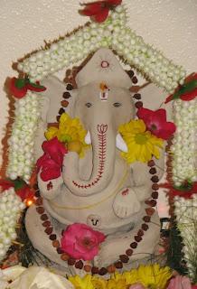 make ganesha clay idol