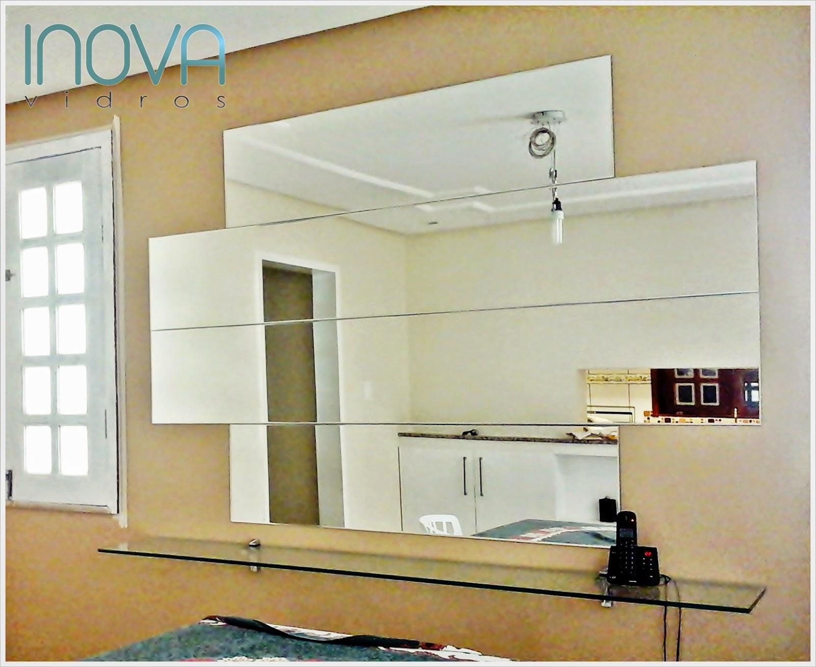 #906F3B Inova Vidros: Painel Espelho Bisotado 1580 Vidros Janelas Fortaleza