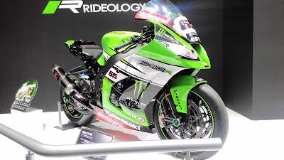 Kawasaki Ninja ZX-10R Jonathan Rea SBKチャンピオン車両 TMS2015