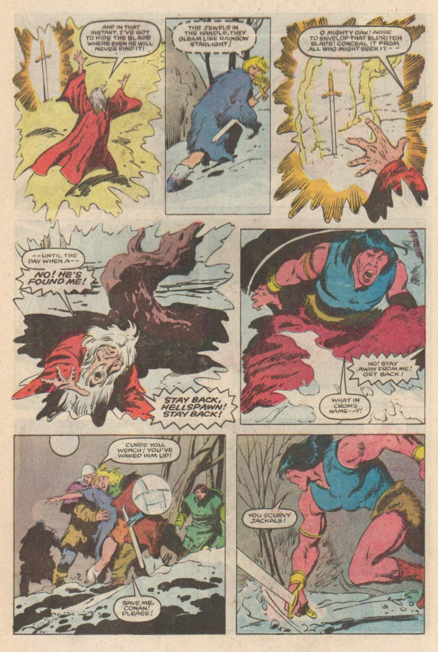 Conan the Barbarian (1970) Issue #169 #181 - English 12