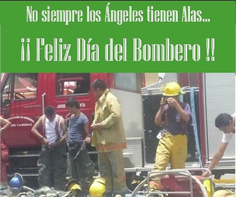 felicitacion a bomberos