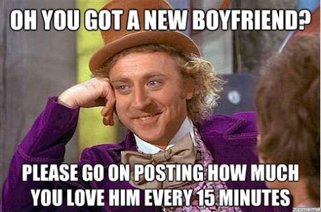 Oh You Got New Boyfriend?