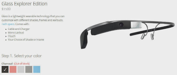 Google Glass (out of stock)