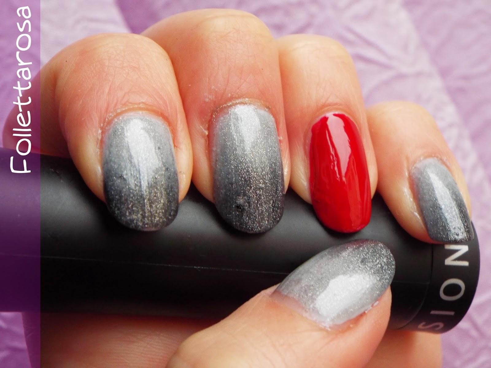 50 sfumature di grigio nail art film