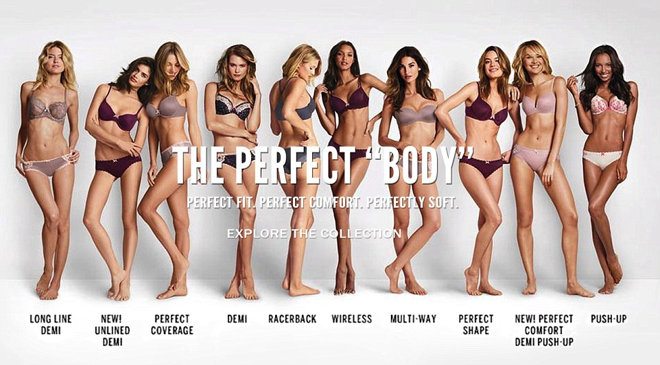 A blog post on Meghan Trainor and Victoria's secret, equally shaming women of different sizes with their latest hit and campaign.