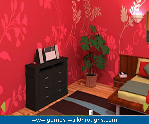Pink Bedroom Escape Walkthrough