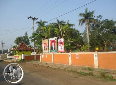 4 balon kades di Desa Balingbing, Pagaden Barat. Subang