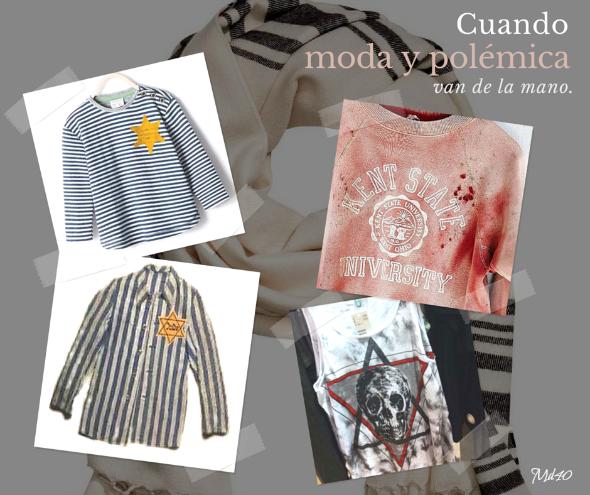 moda polemica zara pijama nazi sudadera urban outfitters