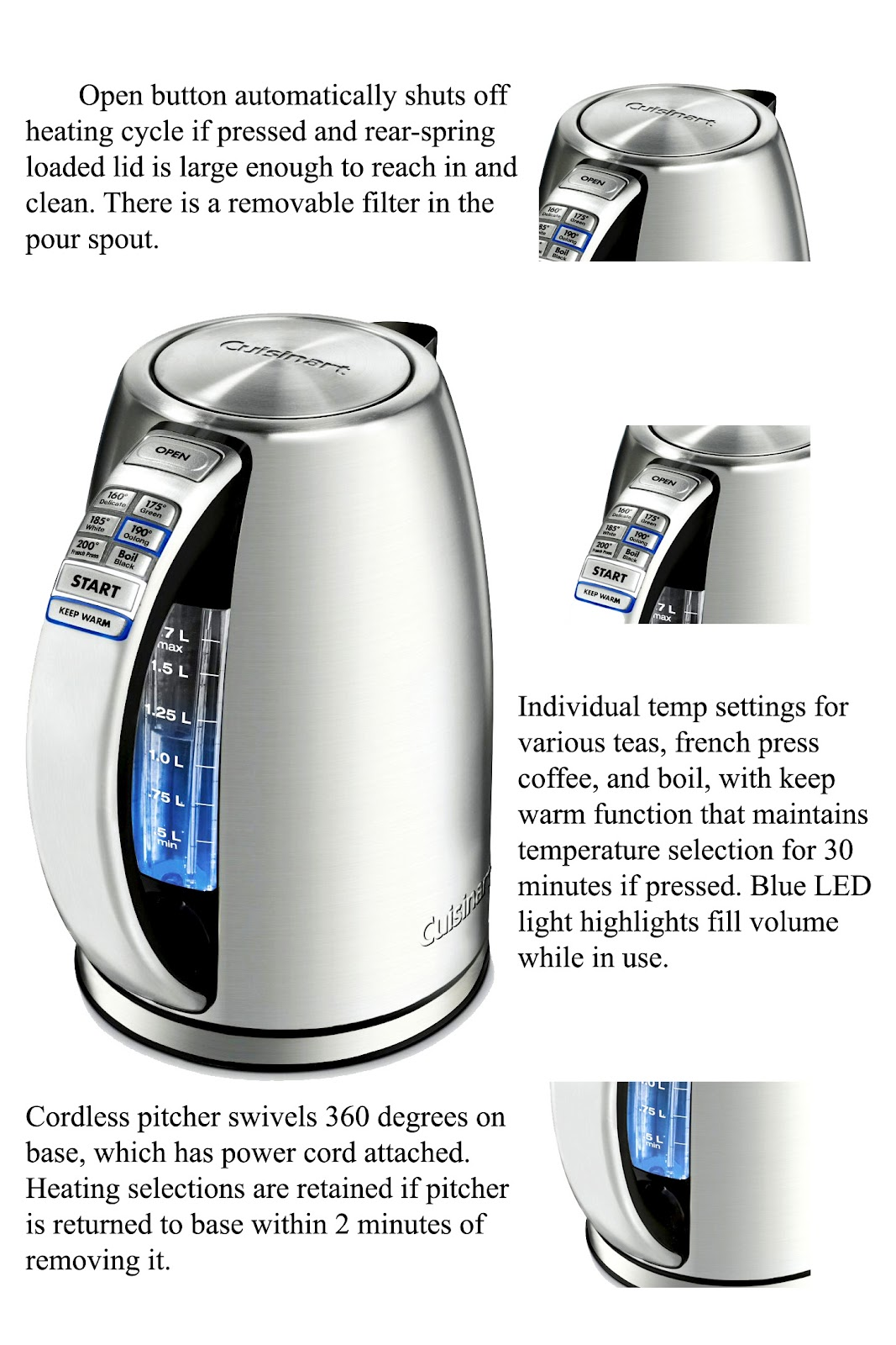 Coffee maker and Appliance