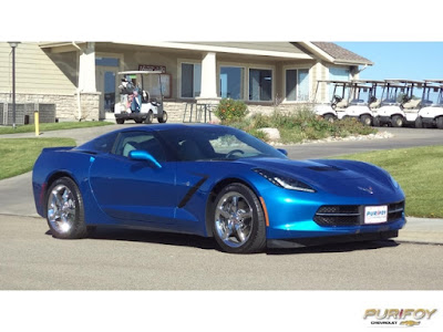 2014 Corvette Stingray 3LT Laguna Blue Metallic at Purifoy Chevrolet