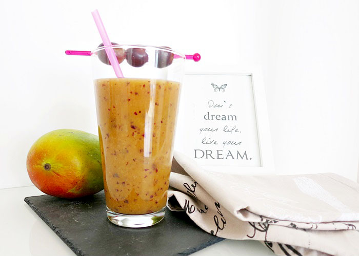 Mango-Trauben Smoothie