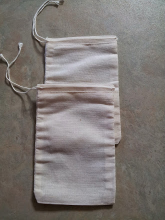 Re-Usable Muslin Tea Bags