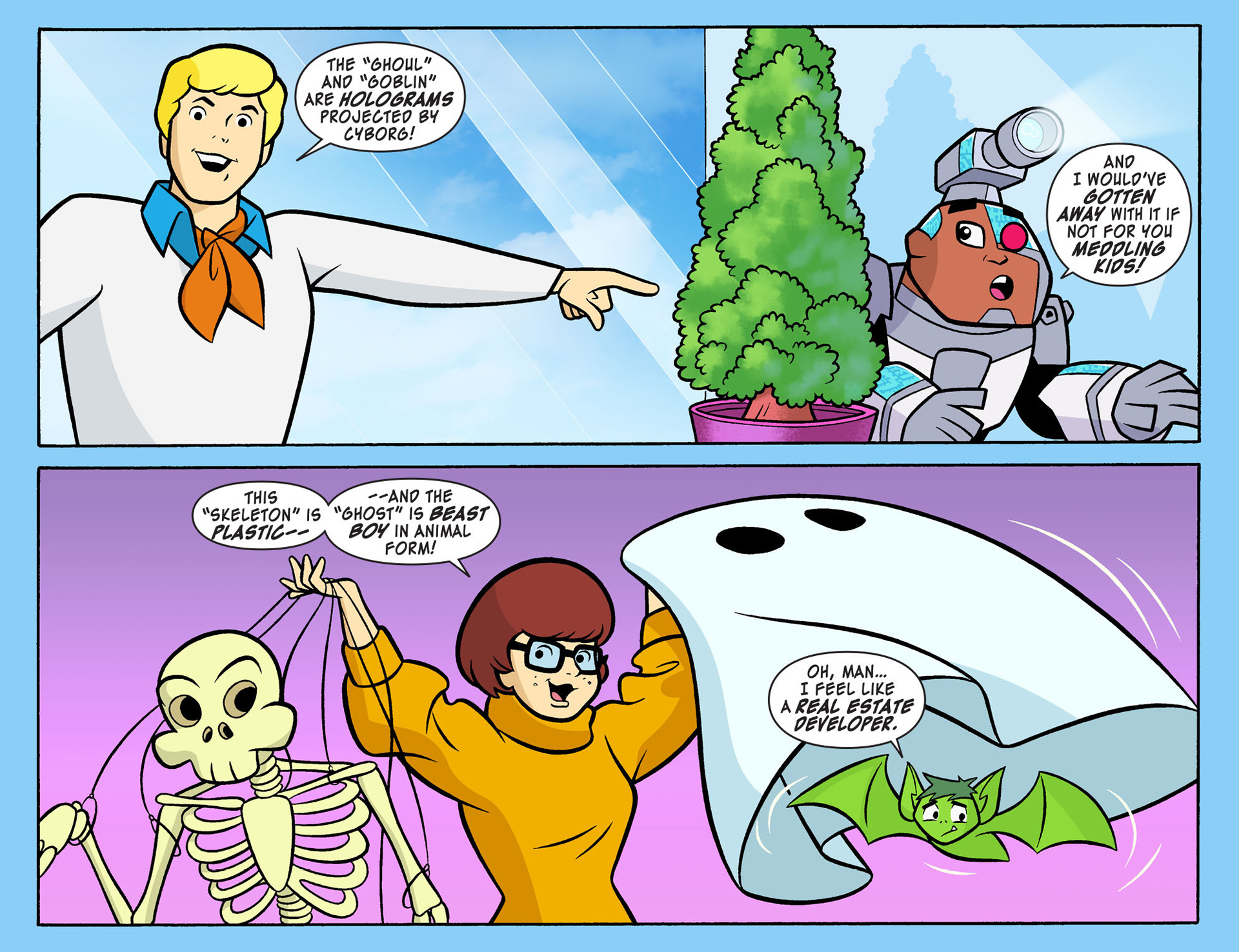 Read online Scooby-Doo! Team-Up comic -  Issue #7 - 19