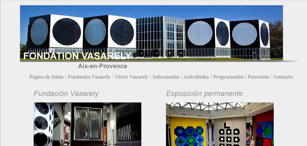 http://www.fondationvasarely.fr/uk/index.php