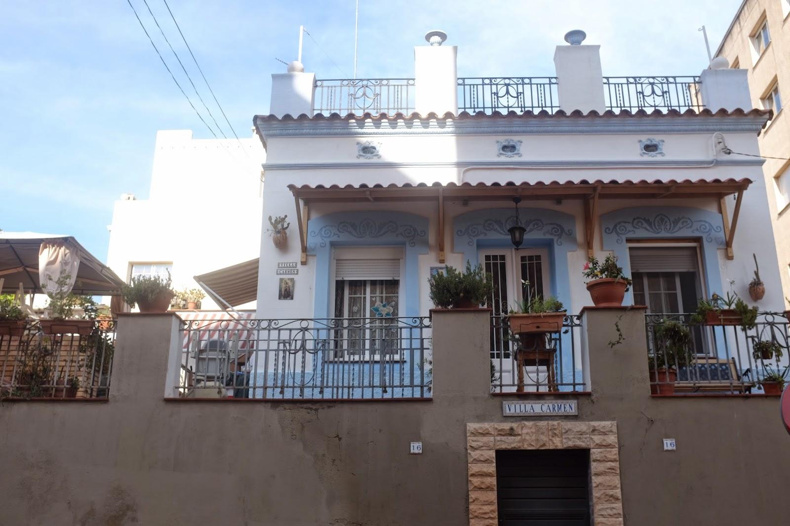 Barcelona architecture details