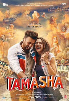 Tamasha movie- Ranbir kapoor, Deepika padukone